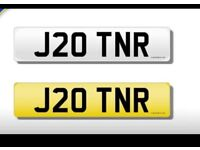 Personalised number plate for sale