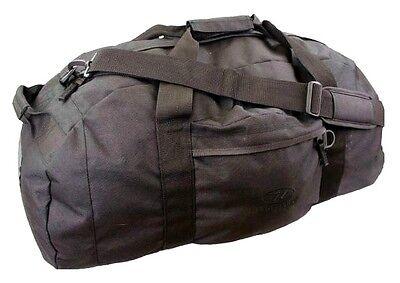 100 L BASE CAMP DUFFLE BAG waterproof loader rucksack expedition pack SAS Black