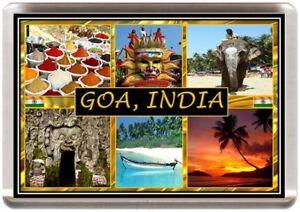 GOA FRIDGE MAGNET INDIA INDIAN SOUVENIR (REF RFGOA)