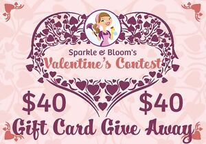 Sparkle & Bloom - $40 Gift Card Give Away!