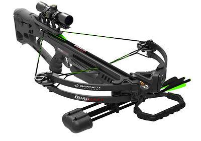 Barnett Outdoors Quad Edge Crossbow Package - 78040 - 340 FPS - Ready to Hunt