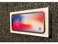 iPhone x brand new boxed unlocked 64gb with receipt