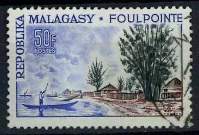 Malagasy Rep. 1962 SG#42, 50f Tourist Publicity, Foulpointe Used #E83461