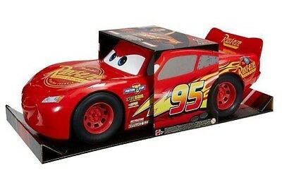 NEW IN BOX Disney Pixar Cars 3 Toy Vehicle - 20 inches long - Lightning McQueen