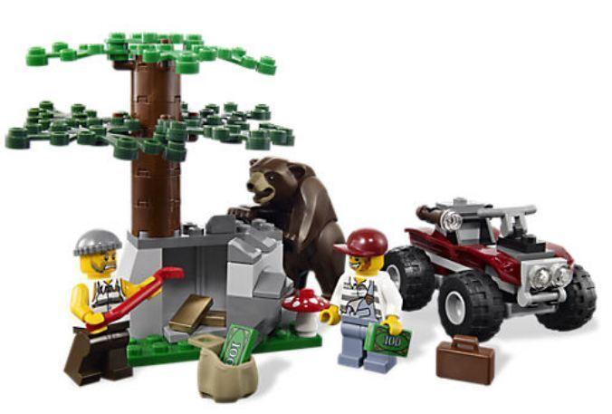 Lego City Police Forest Police Station 4440 Brand New Polybullcom