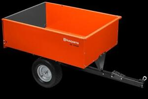 Husqvarna 16' Steel Swivel Dump Cart DC1250S