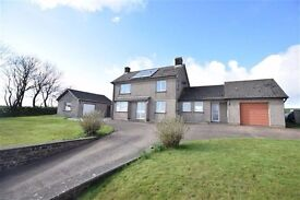 Rural 3 Bed Detached House to Rent with separate workshop. Bude / Holsworthy / Bideford area.£875pcm