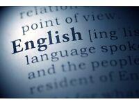 Qualified English language tutor