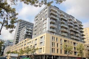 Condo 3 1/2 for rent in Le Seville building Downtown Montreal