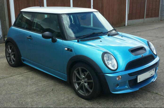 Mini Cooper S R53 Uprated Electric Blue Genuine Jcw