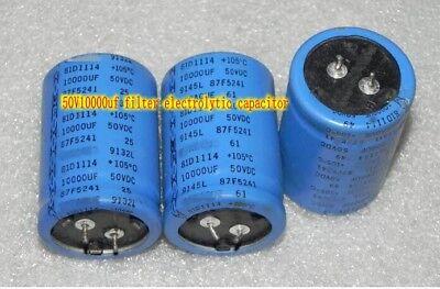 10V27000UF Filter electrolytic capacitor HiFi Audio Capacitors