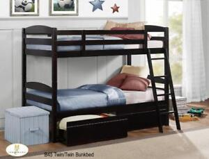 Bunkbed with Storage Drawers - Bunkbeds on Sale (BD-2501)