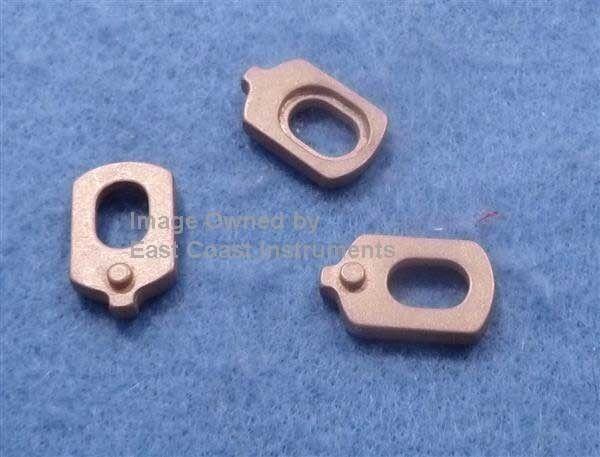 3 Metal Valve piston Tuba Guides Conn 15J King 1140:Baritone 627,625:  Euphonium