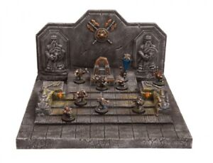Ziterdes 25 mm Terrain Dunkelwelt Dwarven Throne Room Unpainted New