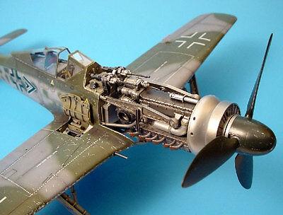 Aires Allemand Focke-Wulf Fw 190D Pistolet Baie Waffenschacht 1:3 2 Kit
