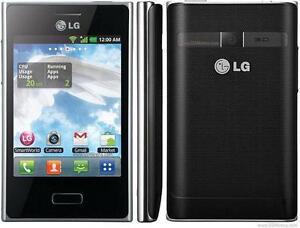 LG OPTIMUS L3 E400R UNLOCKED ROGERS BELL FIDO PUBLIC MOBILE VIRGIN KOODO HSPA 3G GSM TOUCHSCREEN ANDROID GPS RADIO