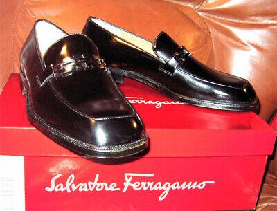 Ferragamo Leather Shoes Gancini Italy