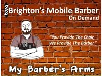 My Barber's Arms - Brighton's Mobile Barber - On Demand!