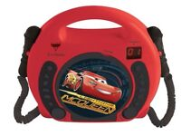 Disney Cars Sing-Along CD-Player with 2 Microphones - Brand NEW