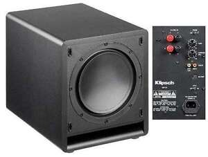 "Klipsch SW-110 10"" Powered Subwoofer - 200 Watt"