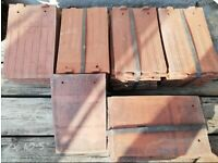 56 Brindle Acme Sandstorm Machine Made Clay Reclaimed 2 Nib Plain Roof Tiles, Only £25
