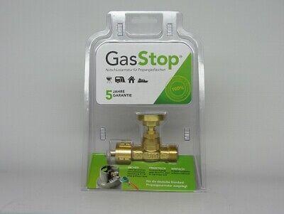 GasSTop  Notschlussarmatur Propangas
