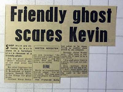 1970 Haunted Furniture Store D Broadhead Appletongate Newark Kevin Robinson ()