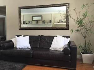 Beautiful, high quality, great condition leather couch