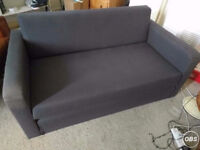 ikea ullvi sofa bed, two seater sofa, small double bed CAN DELIVER