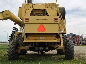 1995 New Holland TR97 Twin Rotor Combine London Ontario image 15