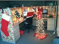 WANTED - Christmas Decorations/Trees for Office Competition
