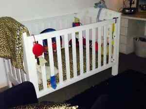 Boori  Baby Changer And  Boori Classic Cot ONLY No Mattress Parkwood Gold Coast City Preview