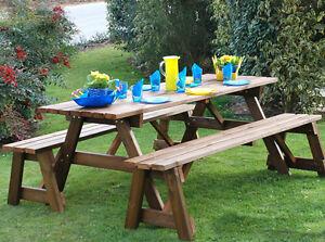 Tavolo da giardino 6 posti 2 panchine sedie arredamento for Tavolo con sedie da terrazzo