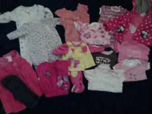 Girl clothes lot 0-12mths