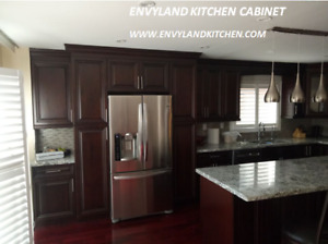 Solid wood Kitchen Cabinets &MDF Cabinets