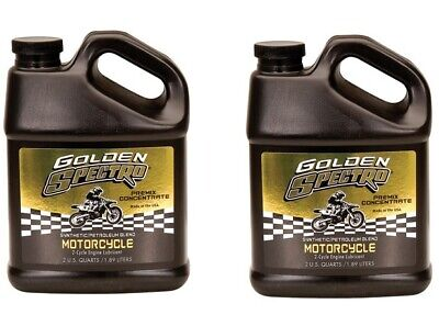 Golden Spectro 2-Cycle PreMix 2 Stroke Motorcycle Oil 64 oz Jug ( 2 Pack )   2 Stroke Oil 2 Cycle