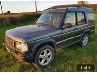 Land Rover discovery 2. Grey. 2.5 TD5 xs station wagon 5dr manual )5 seats)
