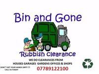 BIN AND GONE RUBBISH CLEARANCE READING WOKINGHAM BERKSHIRE HAMPSHIRE