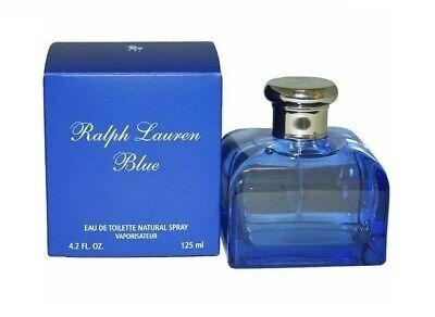 Ralph Lauren BLUE Women 4.2 oz 125 ml *Eau De Toilette* Spray Nib Sealed