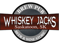 Whiskey Jacks is hiring full and part time servers!!