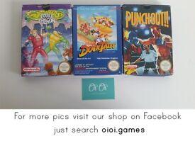 Nintendo NES Games for sale