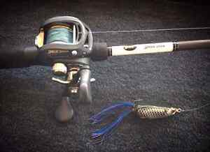Lews Custom Speed stick fishing rods