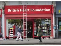 Volunteer with us at our BHF charity shop in Kilburn
