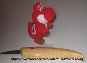 Yoshi carving from Mario Game Peterborough Peterborough Area image 5