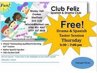 Free Spanish & Drama taster class