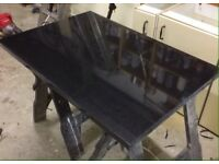 Granite worktop fireplace