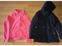 2 x Girls jackets 11-12 Years