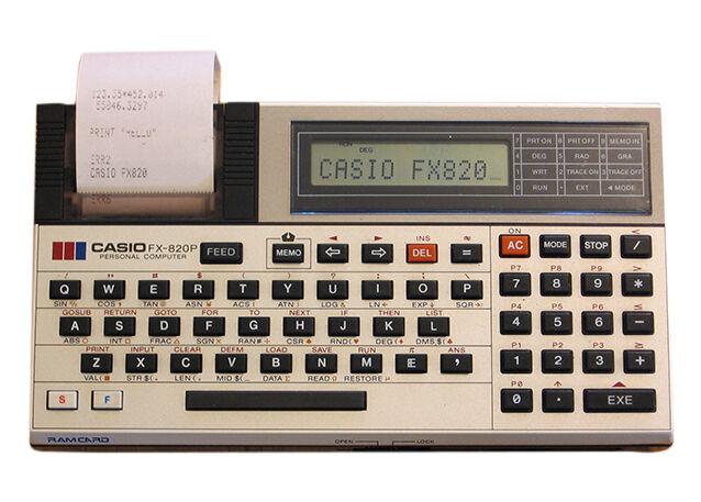 Casio Vintage Computers