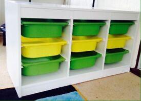 TROFAST kids toy/craft storage