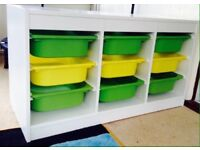 TROFAST kids toy/craft storage